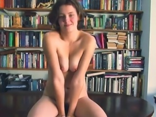 Hairy masturbation and orgasm