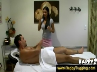 Sweet Asian masseuse goes down  ... free