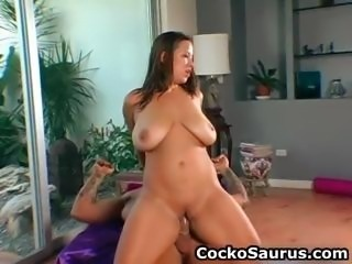 Busty babe Alanna fucking and sucking part4