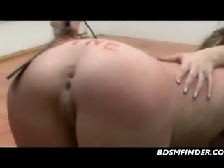 Young and old femdom lesbian discipline and spanking