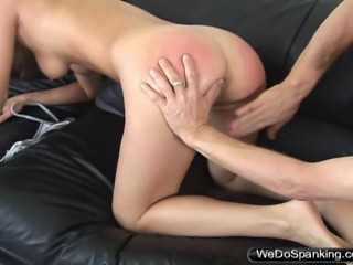 18 year old Charity was a bad girl and really needed her ass beat, we had no...