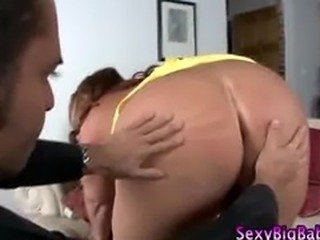 Fat bbw with huge tits strips