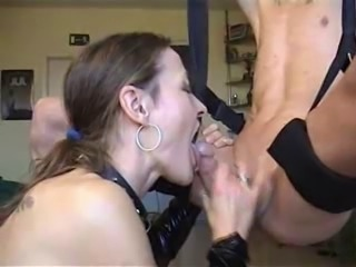 Alcoholic Slave Gets Facefucked
