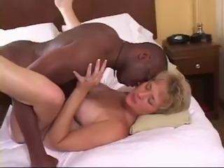 Skanky White Wife takes BBC cream pie