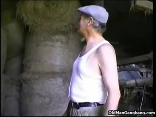 City girl fucked by old farmer free