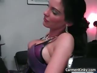 Kinky dominatrix Carmen knows how part2