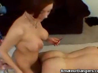 We have this amateur babe with a fetish of a kinky BDSM play. Watch as she...