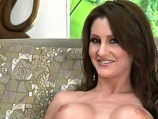 Naughty milf Evelin Rain can not live without good dildo from the college times