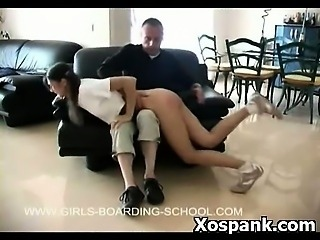 Kinky Girl Spanking Fetish Sex Pounding