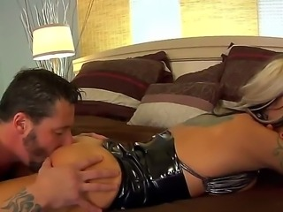 Appealing spoiled Helly Mae Hellfire comes from a romantic dinner and wants...