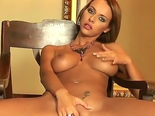 Adorable beauty Dorothy Green teases with her big natural boobs, alluring...
