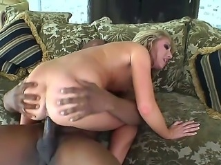 There are moments in this classy interracial sex scene when you start...