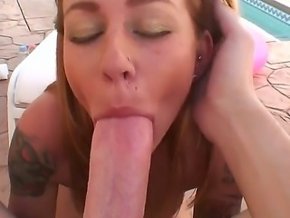 Mike Adriano making POV scene with awesome chick Scarlett Pain and her...