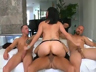 Great hardcore action. staring Bobbi Starr,Chris Strokes,Eric Swiss and...