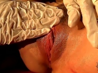 Hot and really sexy tanned mummy Leyla Black with amazing booty gets revived...