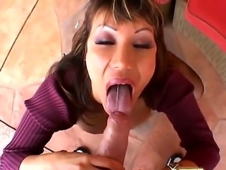 The butt plug that Ava Devine forces into her brickhouse booty is plain...