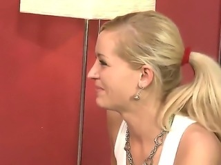 Gorgeous and arousing blondes Silvia Saint
