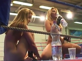 Wanna watch nice-looking battle between two magnetic lesbo girls Then check...