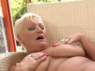 Hardcore and crazy lesbian fuck with a gorgeous old bitch named Cecily and...