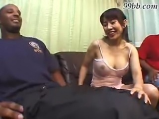 Asian girl fucks a black dude free
