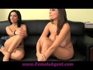FemaleAgent A real sexual firecracker casting free
