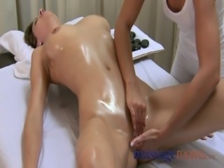 Massage Rooms Hot pebbles sensual foreplay ends in 69er free