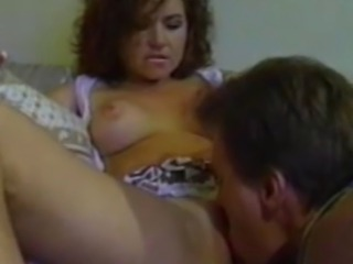 We have this curly haired amateur babe getting her knickers picked by his...