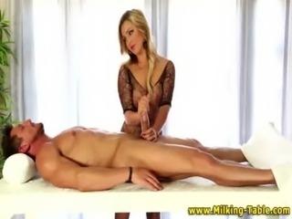 Blonde glam bitch in lingerie free
