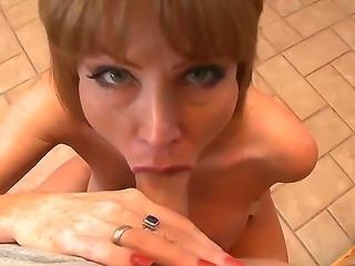 Super sexy Darla Crane has very big tits and she makes unforgettable titjob....