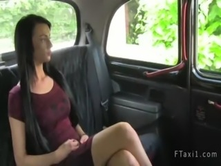 Taxi driver fucks tattooed amateur free