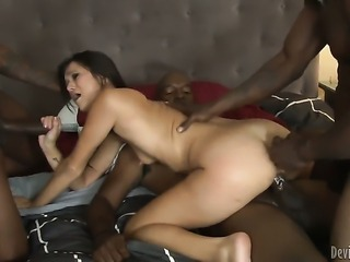 Wesley Pipes loves always wet warm love hole of Lee Bang after she gets her...