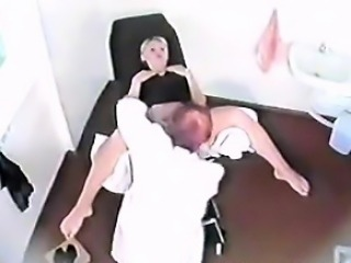 Spycam gynecology voyeur video