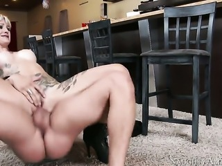 Xander Corvus plays with soaking wet pussy of Kleio Valentien before he bangs...