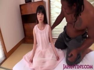 Tiny japanese girl fucked by huge black guy free