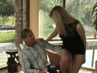 Dona Bell is a cute blonde who craves her mans cock. She lic