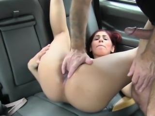 Pervy driver creams Saharas sweet pussy