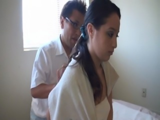 Asian massages white girl free