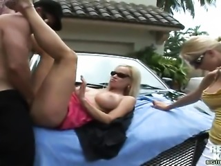Sergio loves devilishly sexy Molly Cavallis amazing body and bangs her mouth...