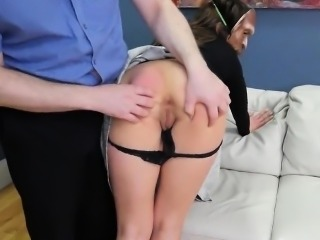 Spicy girl was taken in anal assylum for awkward therapy