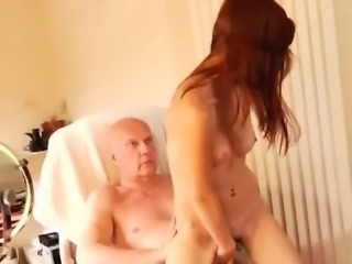 Russian old young lesbian He was hired to do her make-up, bu