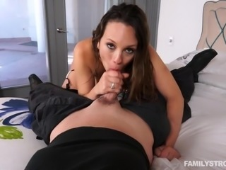 Jade is a sexy young girl, who has a fantasy about being fucked hard by a...