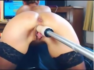 Tonya machine fucked until squirt for coins