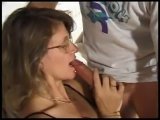 Hot british mature fucked in all holes by two cocks