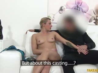 She will only get a role in the agent's latest film, if she can show, she...