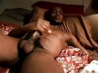 Chocolate cock wank compilation