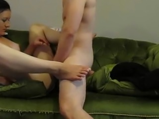 Romani Escort Gets Fucked On an Ugly sofa