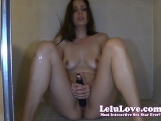 Lelu Love-BIG Orgasm On Shower Floor