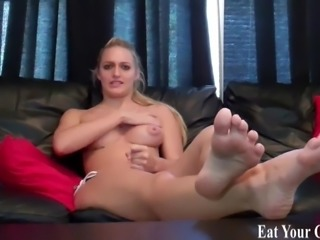 You are going to eat every last drop of your own cum CEI