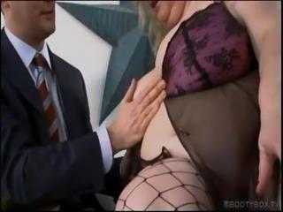BBW Brit Wants Cum On Her Big Fat Tits