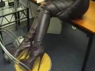 kinky femdom boots